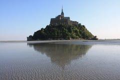 En la bahía del Saint Michel de Mont Fotografía de archivo libre de regalías