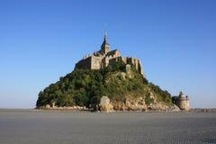 En la bahía del Saint Michel de Mont Fotografía de archivo