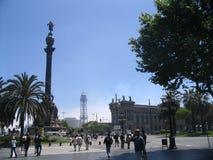 En la calle de Barcelona Fotos de archivo