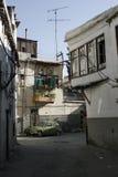 En la calle de Damasco, Siria Foto de archivo libre de regalías