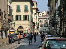 En la calle de la Florencia Fotografía de archivo