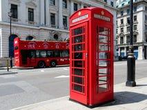 En la calle de Londres Imágenes de archivo libres de regalías