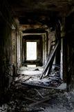 En la casa arruinada Fotos de archivo libres de regalías