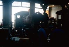 En la casa de máquinas Foto de archivo libre de regalías
