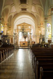 En la catedral Fotos de archivo libres de regalías