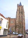 En la ciudad holandesa en Gorinchem. Países Bajos Foto de archivo libre de regalías