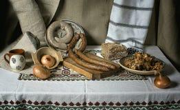 En la cocina Fotografía de archivo