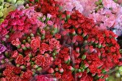 En la colección de muchos ramos florales; color; colorido; belleza Foto de archivo