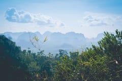 En la colina Imagen de archivo