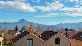 En la colina de Santiago Oriente Imagen de archivo