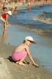 En la costa fotografía de archivo libre de regalías