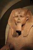 En la cripta del museo de la lumbrera de la esfinge Imagen de archivo libre de regalías