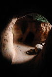 En la cueva Fotos de archivo libres de regalías