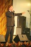 En la etapa que canta a Vasily Gerello G cantante soviético y ruso del — de la ópera (barítono) Fotografía de archivo libre de regalías