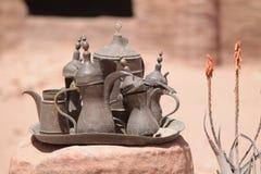 En la exhibición en el Petra Foto de archivo libre de regalías