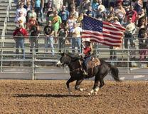 En La Fiesta De Los Vaqueros, Tucson, Arizona royaltyfria foton