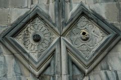 En la iglesia de Haghpat en otoño, Armenia Fotos de archivo