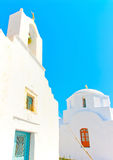 En la isla de Amorgos en Grecia Foto de archivo libre de regalías
