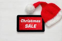 En la línea concepto de las compras del día de fiesta de la Navidad Foto de archivo