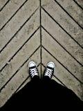 En la manera… Fotografía de archivo