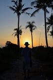 En la manera a la playa Foto de archivo libre de regalías