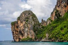 En la manera a PHI PHI Island Phuket Fotos de archivo