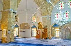 En la mezquita de Antalya Fotos de archivo