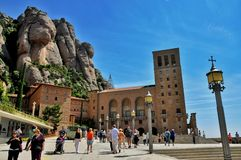 En la montaña Montserrat Fotografía de archivo