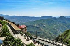 En la montaña Montserrat Fotos de archivo