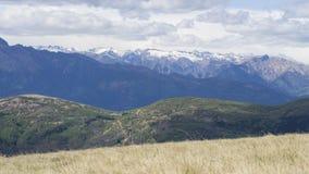En la montaña Suiza de Monte Lema fotografía de archivo