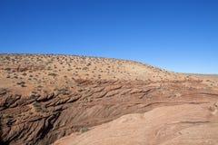 En la nación de Navajo en Arizona Imágenes de archivo libres de regalías