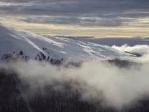 En la niebla Imagen de archivo