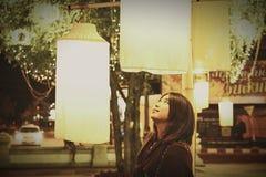 En la noche de Khon Kaen Fotografía de archivo libre de regalías