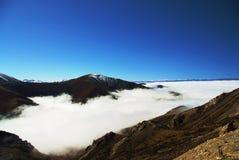 En la nube Imagen de archivo libre de regalías