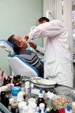 En la oficina del dentista Foto de archivo libre de regalías