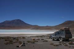 En la orilla de Laguna Hedionda Fotografía de archivo libre de regalías