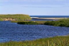 En la orilla del mar del ââOkhotsk Fotografía de archivo libre de regalías