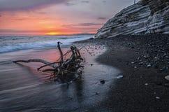 En la orilla del Mar Negro imagen de archivo