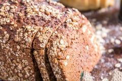 En la panadería, aún vida con pan Fotografía de archivo