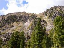 En la parte inferior de la colina Fotografía de archivo
