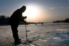 En la pesca Imagenes de archivo