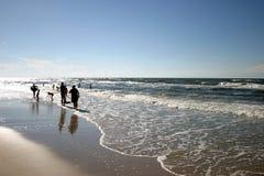 En la playa imagen de archivo libre de regalías