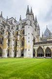 En la yarda interna de la abadía de Westminster Fotos de archivo libres de regalías