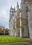 En la yarda interna de la abadía de Westminster Imagen de archivo