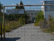 En la zona de la radiación Fotos de archivo