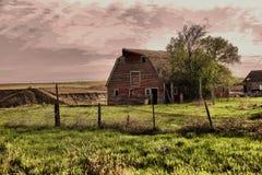 En ladugård för gammalt land Royaltyfri Foto