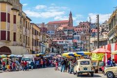 En las calles de Antananarivo Imagen de archivo