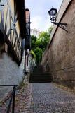 En las calles de Meissen Fotografía de archivo libre de regalías