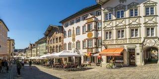 En las calles de mún Tolz - Alemania Fotografía de archivo