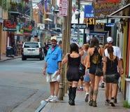 En las calles de NOLA (turista obvio) fotos de archivo libres de regalías